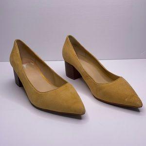 Crown Vintage Juryan suede pointed toe pump 7